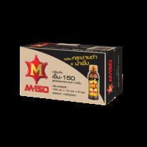 เอ็ม-150 สูตรผสมกระชายดำและน้ำผึ้ง ขนาด 100 มล. (ยกลัง 50 ขวด)