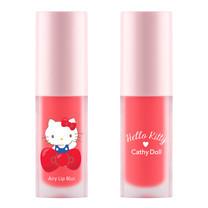 Cathy Doll เฮลโลคิตตี้ แอรี่ลิปเบลอ 4g #02 พีชโรส