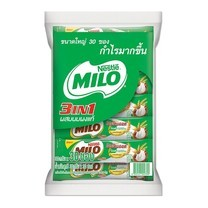 ไมโล แอคทิฟโก ชนิดผง 3in1 30 กรัม (30 ซอง/ถุง)
