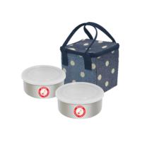 ชุดกล่องอาหารบับเบิ้ล ทู จรวด สีน้ำเงิน