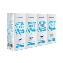 เอสเซ็นเชียลลี่ฟรีแลคโตส นม UHT พร่องมันเนย 180 มิลลิลิตร แพ็ก 4