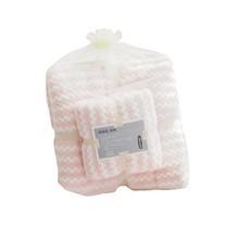 ชุดของขวัญ ผ้าขนหนู Set B สีชมพู ขาว
