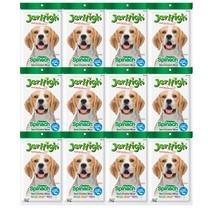 ขนมสุนัขเจอร์ไฮ สติ๊ก ผักโขม 70ก. (1แพ็ก 12 ชิ้น)