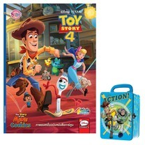 TOY STORY 4 + Tin Box (สีฟ้า)