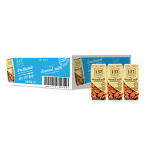 137ดีกรี นมอัลมอนด์ สูตรไม่หวาน 180 มล. (ยกลัง 36 กล่อง)