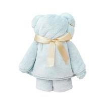 ชุดถุงของขวัญ ผ้าขนหนูน้องหมี สีฟ้าอ่อน