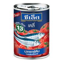 ปลาซาร์ดีนในซอสมะเขือเทศ ตราซีเล็คเดลี่ 130 ก.