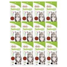 ขนมแมวจินนี่ สติ๊ก รสแซลมอน 35ก. (1แพ็ก 12 ชิ้น)