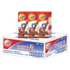 โอวัลตินช็อกโกแลต นมUHT 225 มิลลิลิตร (ขายยกลัง 36 กล่อง)