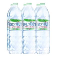 น้ำแร่ อควาฟิน่า 1500 มล.(แพ็ค 6)