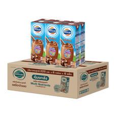 โฟร์โมสต์ นมUHT รสช็อคโกแลต 225 มิลลิลิตร (ขายยกลัง 36 กล่อง)