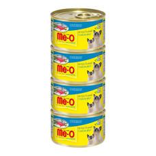 มีโอ อาหารแมวเปียกปลาทูน่า กระป๋อง 80 ก.(แพ็ก4)