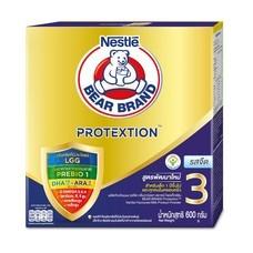 นมผงหมีแอดวานซ์โพรเท็กซ์ชันสูตร3  รสจืด 600 กรัม