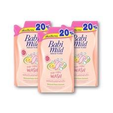 เบบี้มายด์ น้ำยาซักผ้าเด็ก ถุงเติม (แพ็ก3)
