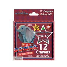 สีเทียน12สี ดัมโบ้ Dumbo