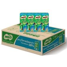 ไมโลสูตรน้ำตาลน้อย นมUHT 180 มิลลิลิตร (ขายยกลัง 48 กล่อง)