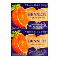 สบู่เบนเนท ซีแอนด์อี สีส้ม 130 ก. แพ็ค 4