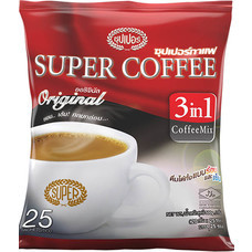 ซุปเปอร์กาแฟปรุงสำเร็จชนิดผง แพ็ค 25 ซอง