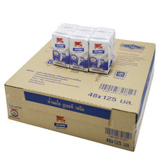 ไทยเดนมาร์ค นมUHT รสจืด 125 มิลลิลิตร (ขายยกลัง 48 กล่อง)