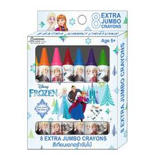 สีเทียนเอ็กตร้าจัมโบ้8สี Frozen