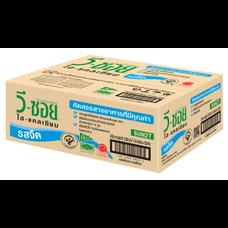 ถั่วเหลือง UHT วีซอยรสจืด  230 มิลลิลิตร (ขายยกลัง 36 กล่อง)
