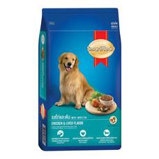 สมาร์ทฮาร์ทอาหารสุนัขโต รสไก่และตับ 10 กก.