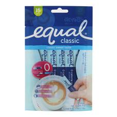 น้ำตาล Equal Classic แพ็ค 15 ซอง