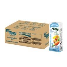 ทิปโก้ น้ำผักผลไม้รวม 180 มล. (ยกลัง 24 กล่อง)