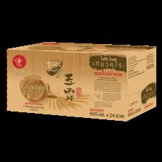 โออิชิ โกลด์ เกียวคุโระ สูตรไม่มีน้ำตาล 400 มล. (ยกลัง 24 ขวด)