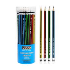 YOYA 6201 ดินสอไม้ HB 1 กล่อง 50 ด้าม