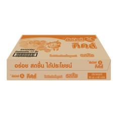 นมเปรี้ยวUHTดัชมิลค์คิดส์ส้ม 90 มิลลิลิตร (ขายยกลัง 48กล่อง)