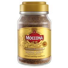 มอคโคน่ารอยัลโกลด์กาแฟผงขวดแก้ว 100 กรัม