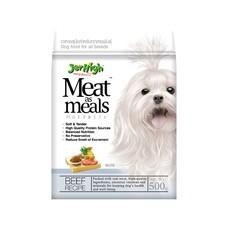 อาหารสุนัขเจอร์ไฮ มีทแอสมีลรสเนื้อ 500ก.