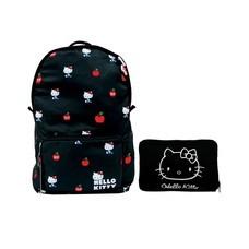กระเป๋าเป้ Hello Kitty Black