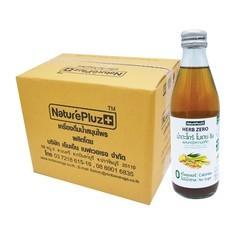 เฮิร์บซีโร่ น้ำตะไคร้ใบเตยขิง 250 มล.  (ยกลัง 12 ขวด)