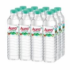 ออร่า น้ำแร่ 500มิลลิลิตร แพ็ค12