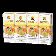 ดอยคำ น้ำมะขามป้อมและน้ำบ๊วยผสมน้ำผึ้ง กล่อง 200 มิลลิลิตร (แพ็ก 4 กล่อง)