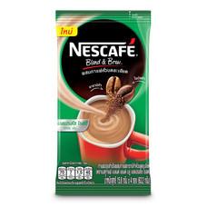 เนสกาแฟปรุงสำเร็จชนิดผง เบลนด์แอนด์บรู เอสเปรสโซ่ แพ็ก 4 ซอง