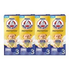 ตราหมี นมUHT โปรเทคชั่น สูตร3 180 มิลลิลิตร แพ็ก 4