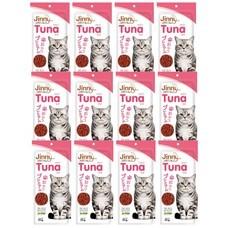 ขนมแมวจินนี่ สติ๊ก รสทูน่า 35ก. (1แพ็ก 12 ชิ้น)