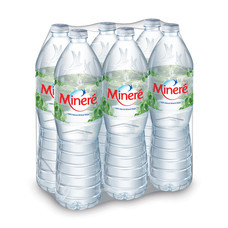 มิเนเร่น้ำแร่1500 มิลลิลิตร แพ็ก6