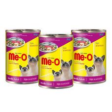 มีโออาหารแมวเปียก ซีฟู้ด 400 ก. (แพ็ก3)