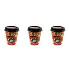 มาจโจอึม ต๊อกป๊อกกิ รสดั้งเดิม 120กรัม แพ็ก 3 ถ้วย