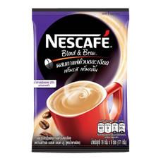 เนสกาแฟ 3in1 เบลนด์แอนด์บรู สูตรน้ำตาลน้อย แพ็ค 9