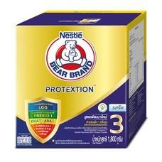 เนสท์เล่ตราหมีเอ็กซ์แอดวานซ์โพรเทกชั่น นมผงสูตร 3 รสจืด สำหรับเด็กอายุ 1 ปีขึ้นไป 1,800 กรัม