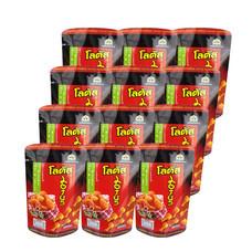 โลตัส ขนมน่องไก่รสแซ่บซี๊ด 50กรัม(แพ็ก12)