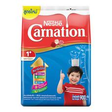 นมผงคาร์เนชั่น 1+ สูตร 3 กลิ่นวานิลลา 900ก.