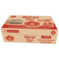 ดัชมิลล์สตรอเบอร์รี่ นมเปรี้ยวUHT 180มิลลิลิตร (ขายยกลัง 48 กล่อง)