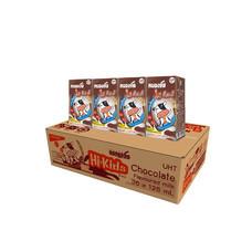 หนองโพ นมUHT รสช็อกโกแลต 125 มิลลิลิตร (ขายยกลัง 48 กล่อง)
