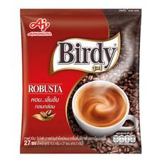 เบอร์ดี้ กาแฟสำเร็จรูปชนิดผง โรบัสต้า แพ็ก 27 ซอง